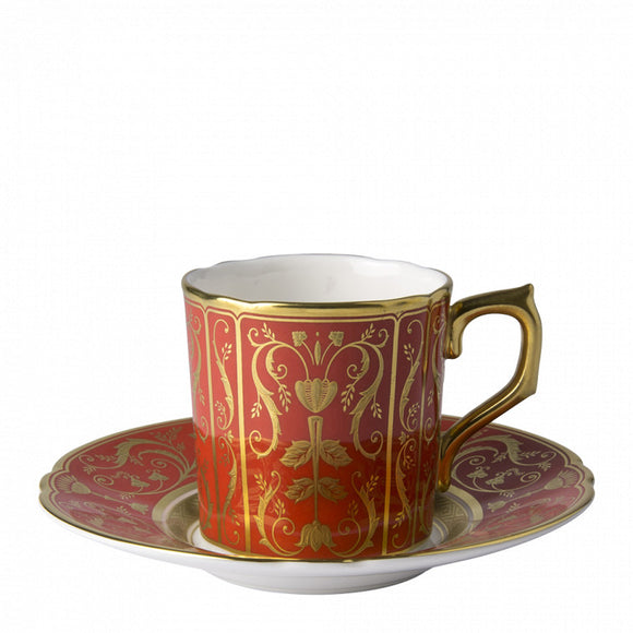 REGENCY RED - COFFEE CUP & SAUCER