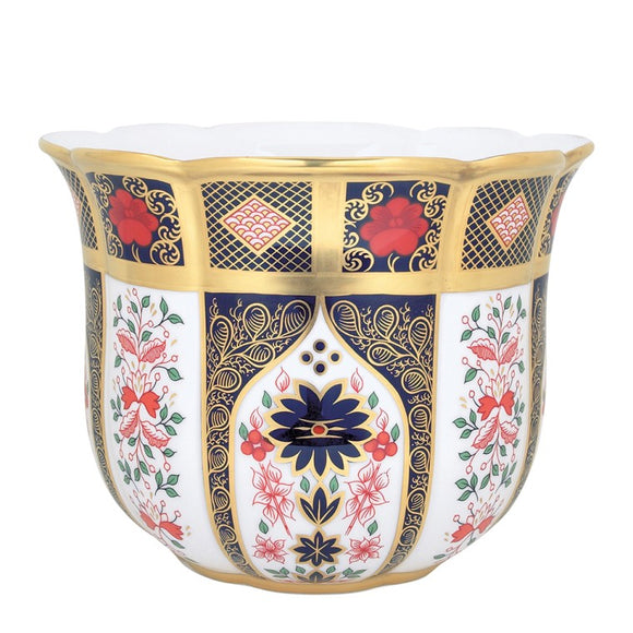 OLD IMARI SOLID GOLD BAND - GARDENIA PLANTER