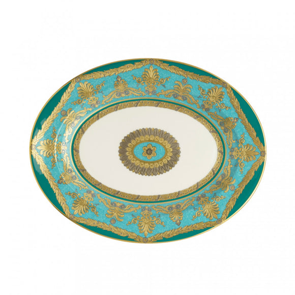 TURQUOISE PALACE - 42CM OVAL DISH