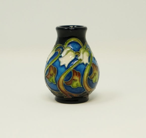 Moorcroft Lily of the Valley Mini