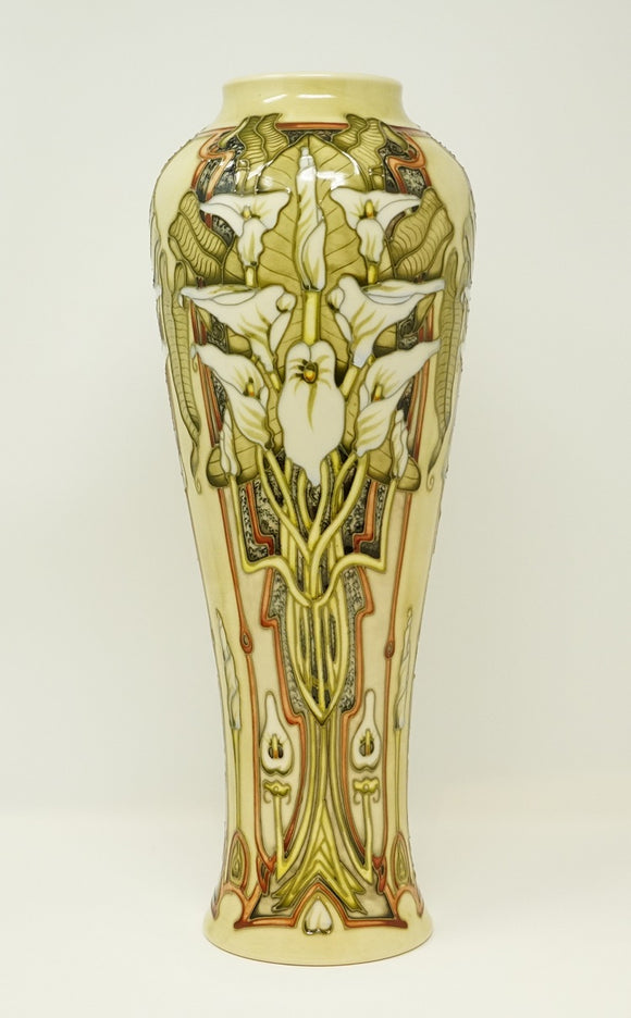 Moorcroft Remember Vase Limited Ed.