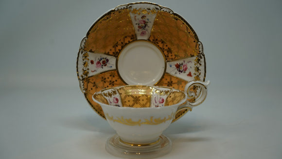 Davenport Teacup and Saucer Manufacturer to Their Majesties