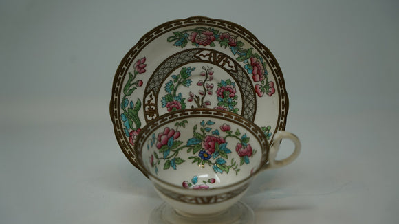 Aynsley Indian Tree Pattern Cup & Saucer