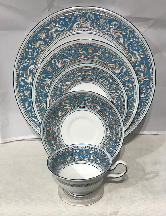 Wedgwood Florentine Turquiose 12 Place Settings