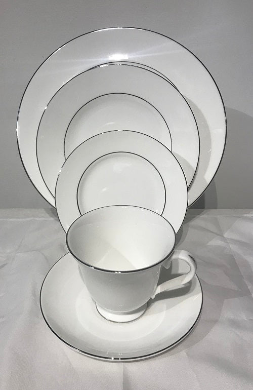 Wedgwood Signet Platinum 4 Place Settings