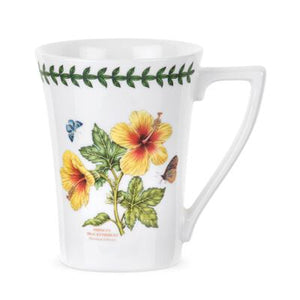 Portmeirion Exotic Botanic Garden Mandarin shape Mugs Set of 6