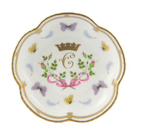 Royal Crown Derby Princess Charlotte Five Petal Tray