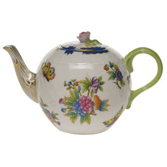 Teapot with Rose Knob - VBO-Y