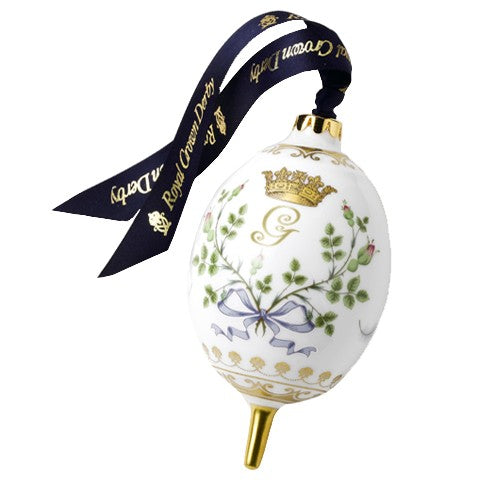 RCD Royal Baby Oval Bauble - Limited Edition Of 1500