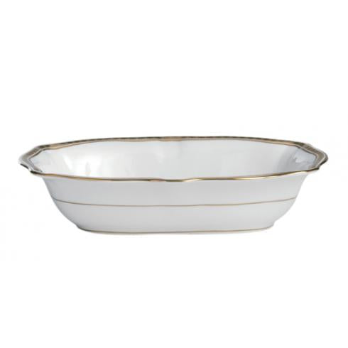 Carlton Gold Open Vegetable Dish
