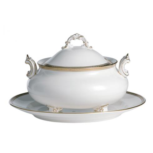 Carlton Gold Soup Tureen & Stand