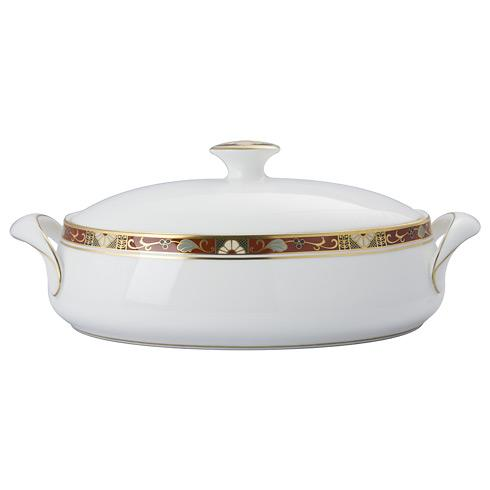 Cloisonne Covered Vegetable Dish