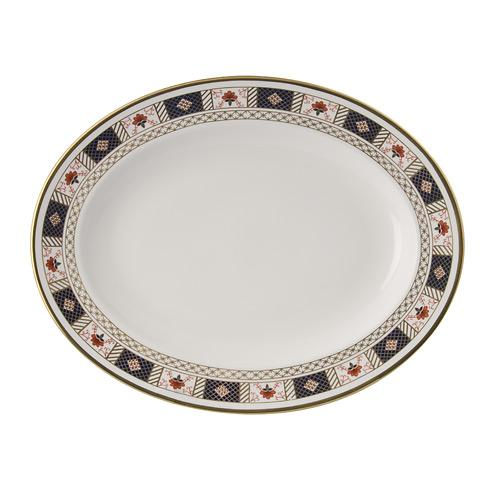 Derby Border Medium Platter
