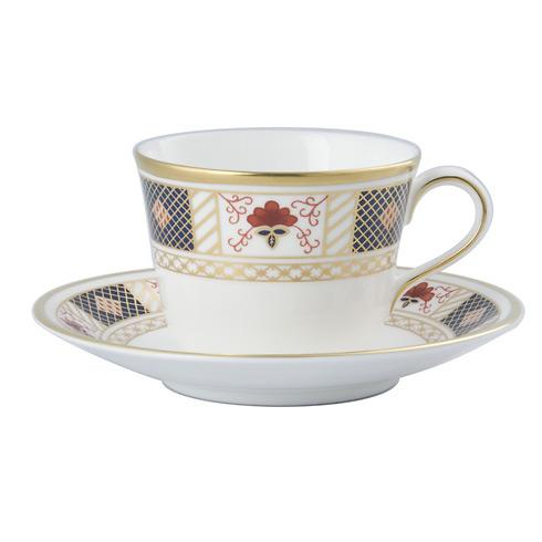 Derby Border Tea Cup & Saucer