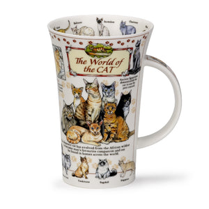 Dunoon World Of the Cats Glencoe shape Mug
