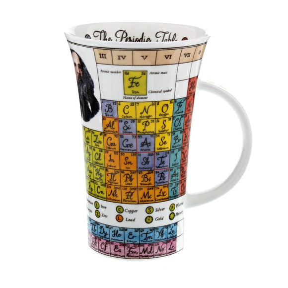 Dunoon Periodic Table Glencoe shape Mug