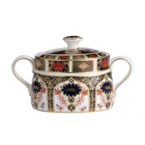 Old Imari Covered Sugar