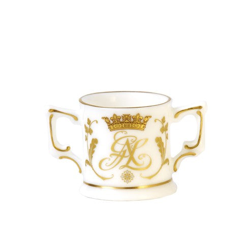 Royal Crown Derby Christening Mini Loving Cup