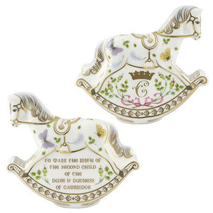 Royal Crown Derby Princess Charlotte Rocking Horse