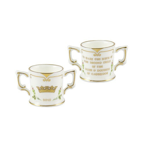 Royal Crown Derby Princess Charlotte Mini Loving Cup