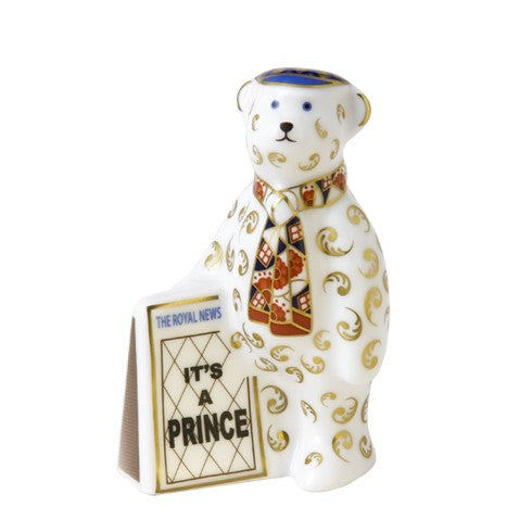 RCD Newspaper Seller Bear - Limited Edition Of 1000