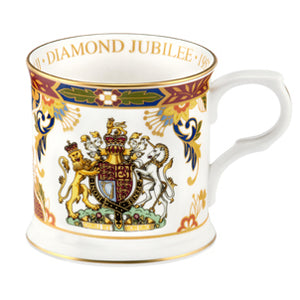 Royal Worcester Diamond Jubilee Tankard