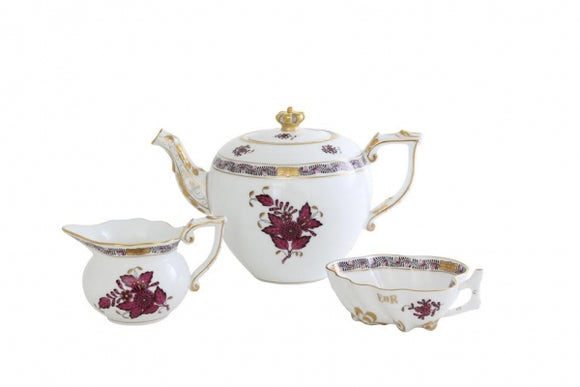 Herend Longest Reigning Monarch Teapot