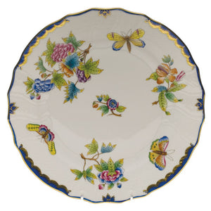5 pc. Place Setting - Queen Victoria Blue