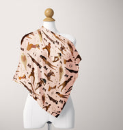 """Body Love"" Silk Scarf"