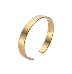 Mens Brixton Cuff in Matte Gold