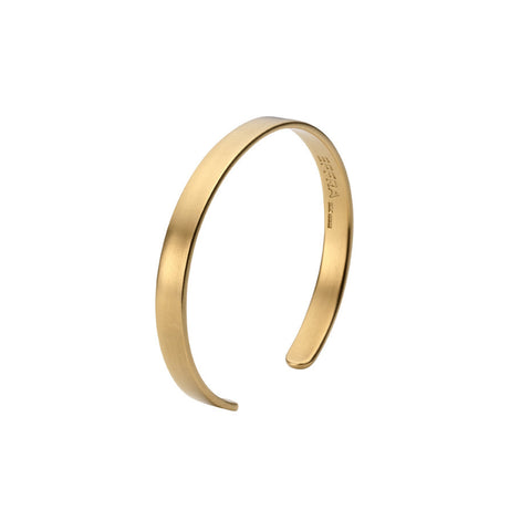 Womens Brixton Cuff in Matte Gold