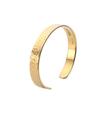 Mens Acre Cuff in Polished Gold