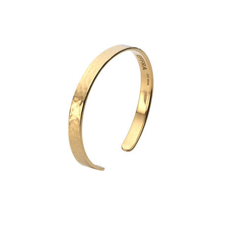 Womens Acre Cuff in Polished Gold