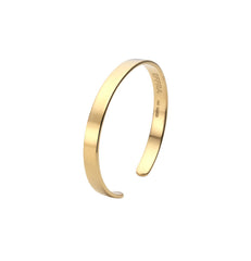 Womens Brixton Cuff in Polished Gold