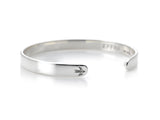 Womens Brixton Cuff in Silver