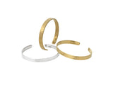 Womens Acre Cuff in Matte Gold