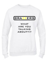 Carica l'immagine nel visualizzatore di Gallery, Felpa Girocollo Uomo/Donna Basic Top qualità Top vestibilità - Brazzers - What Are You Talking About - Made in Italy