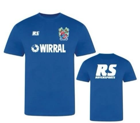 Blue RS 90s Training T Shirt