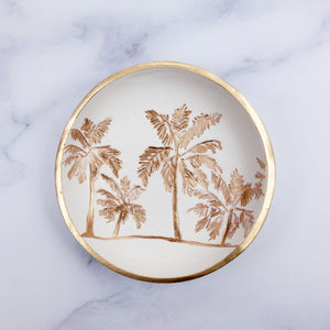 Palm Tree Jewelry Dish