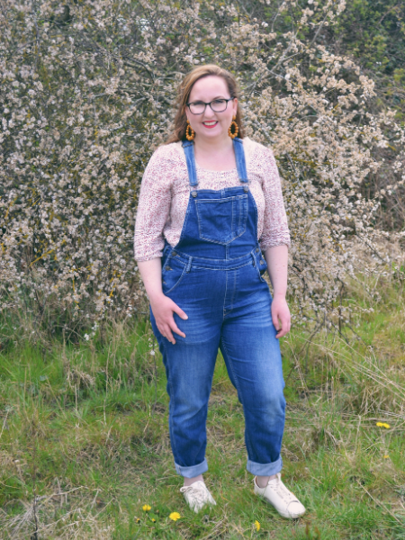 Fatface Dungarees and floral top