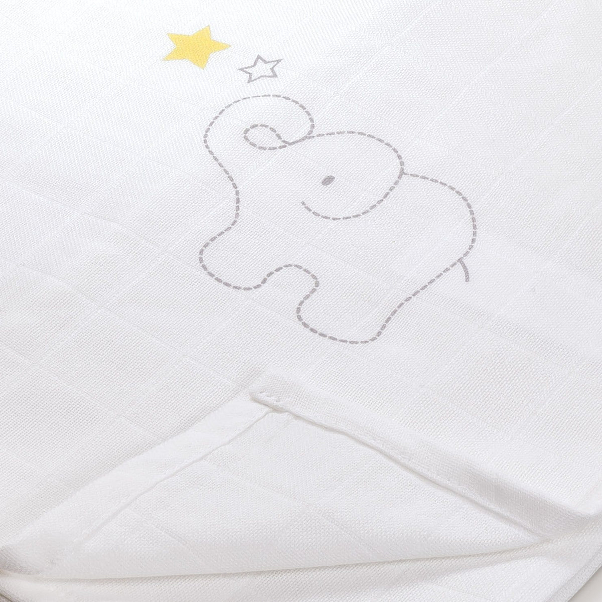 Unboxed 100/% Orgnaic Cotton Muslin Squares Personalised Organic Baby Muslins Unisex Swaddle Blanket Wraps in Smily Alphabets of Your Choice with Different Colour Letter B, Random Colour,1