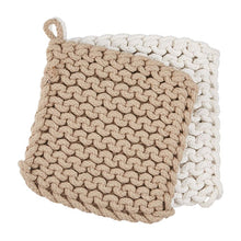 Load image into Gallery viewer, Crocheted Pot Holders