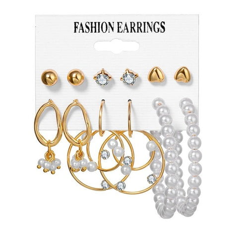 Women's Earrings Set - E-Nas