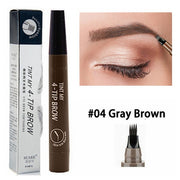 5 Colors Eyebrow Pen - E-Nas