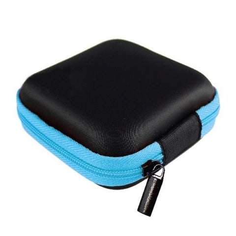 Zipper Headphone Case Travel Storage Bag - E-Nas