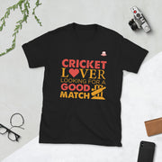 Cricket Lover Looking For A Good Match | T-Shirt