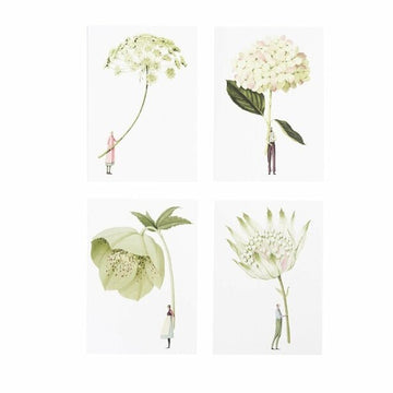 Card Set (Boxed): Laura Stoddart - In Bloom - Greens - Notecards