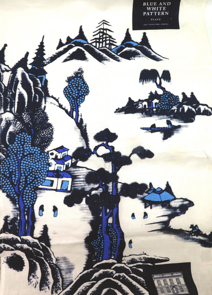 Tea Towel (TJC): Blue Willow