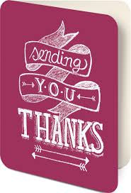 Card Set (Boxed): Chalkboard - Thank You