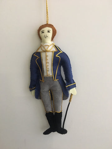 Character Decoration: Mr Knightley